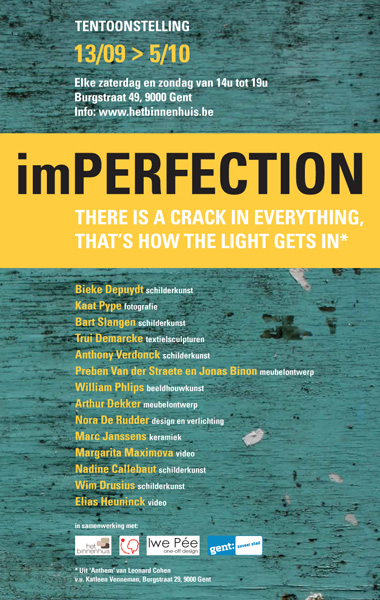 IMPERFECTION SEPTEMBER - 2014